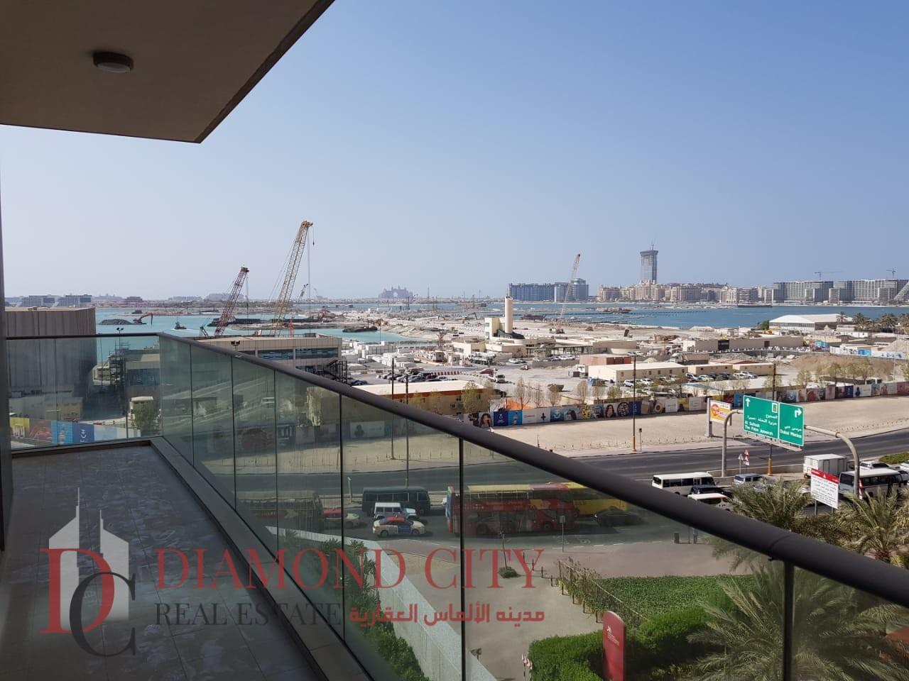 Huge 1 BR  Partial Sea View Dubai Marina