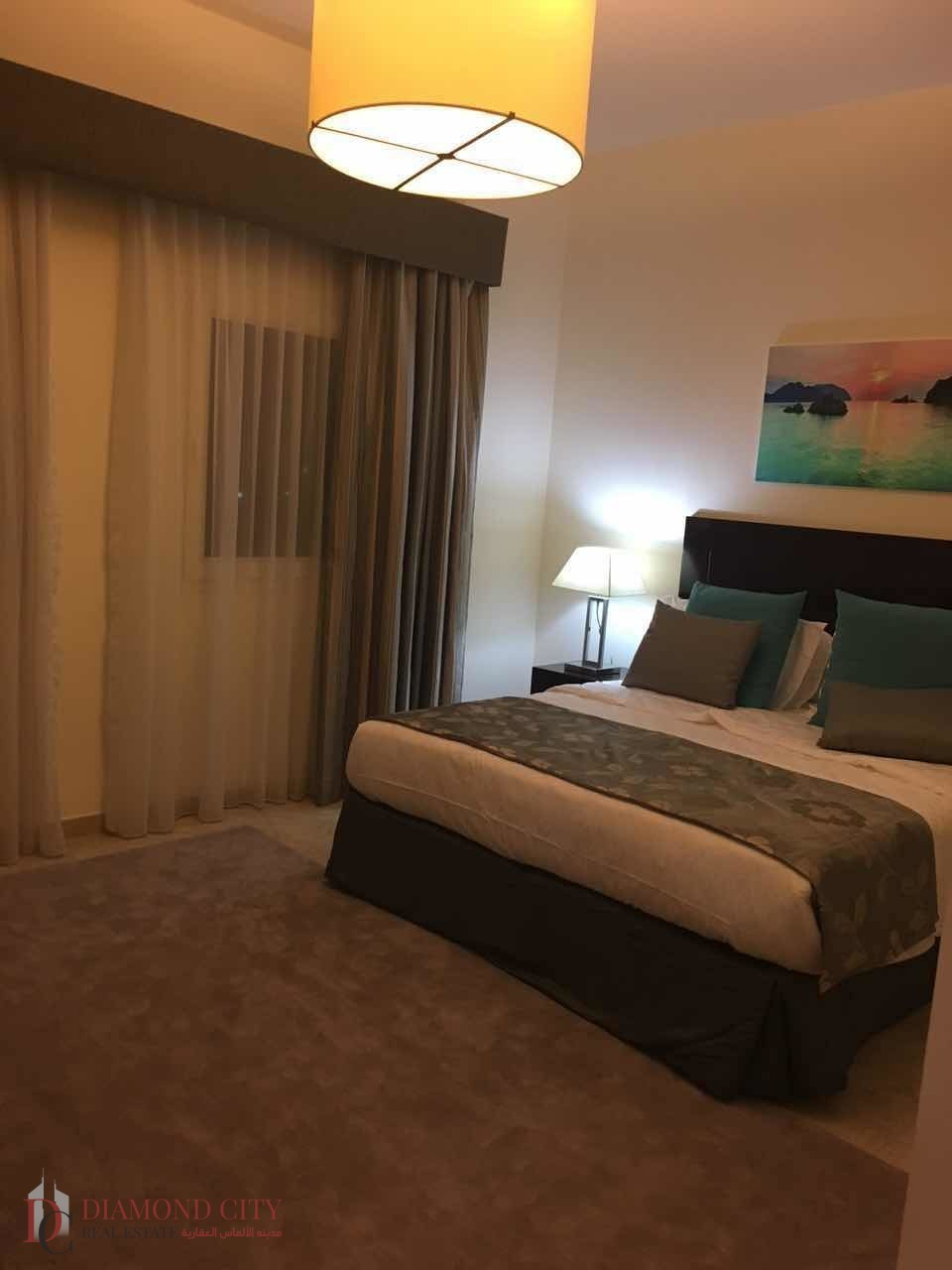 Beautiful Furnished 1BR Community View  JVT