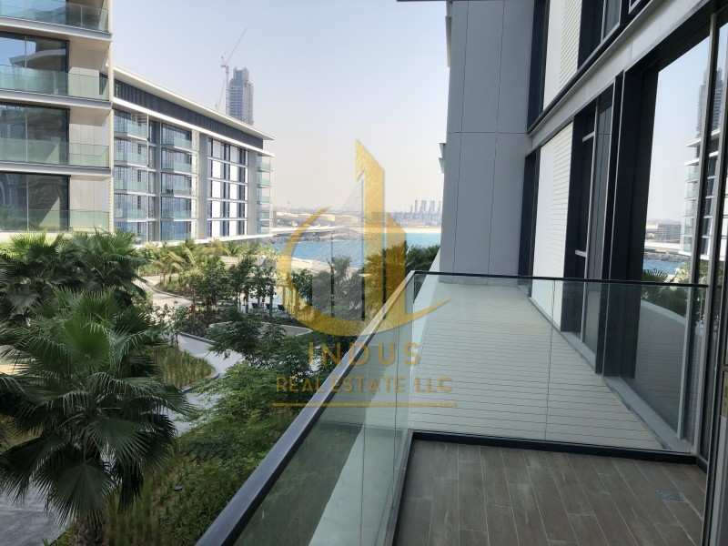 #StaySafe|Garden and Sea View|Large 1BR at Bluewaters