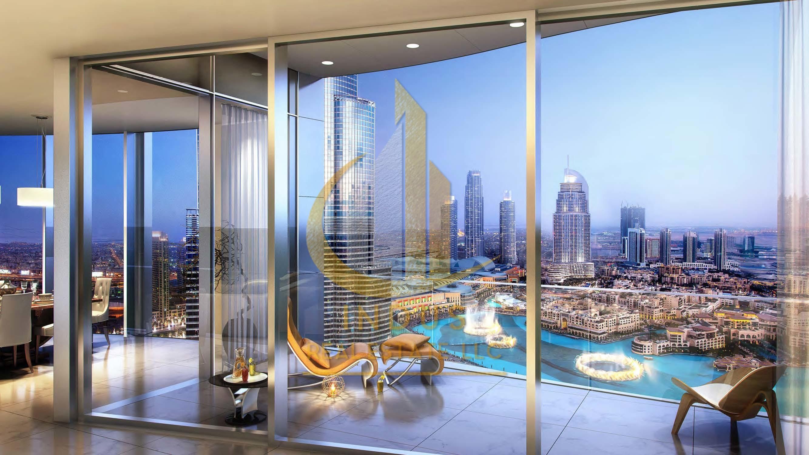 Burj Khalifa-Fountain Views! 5 Years Post-Handover