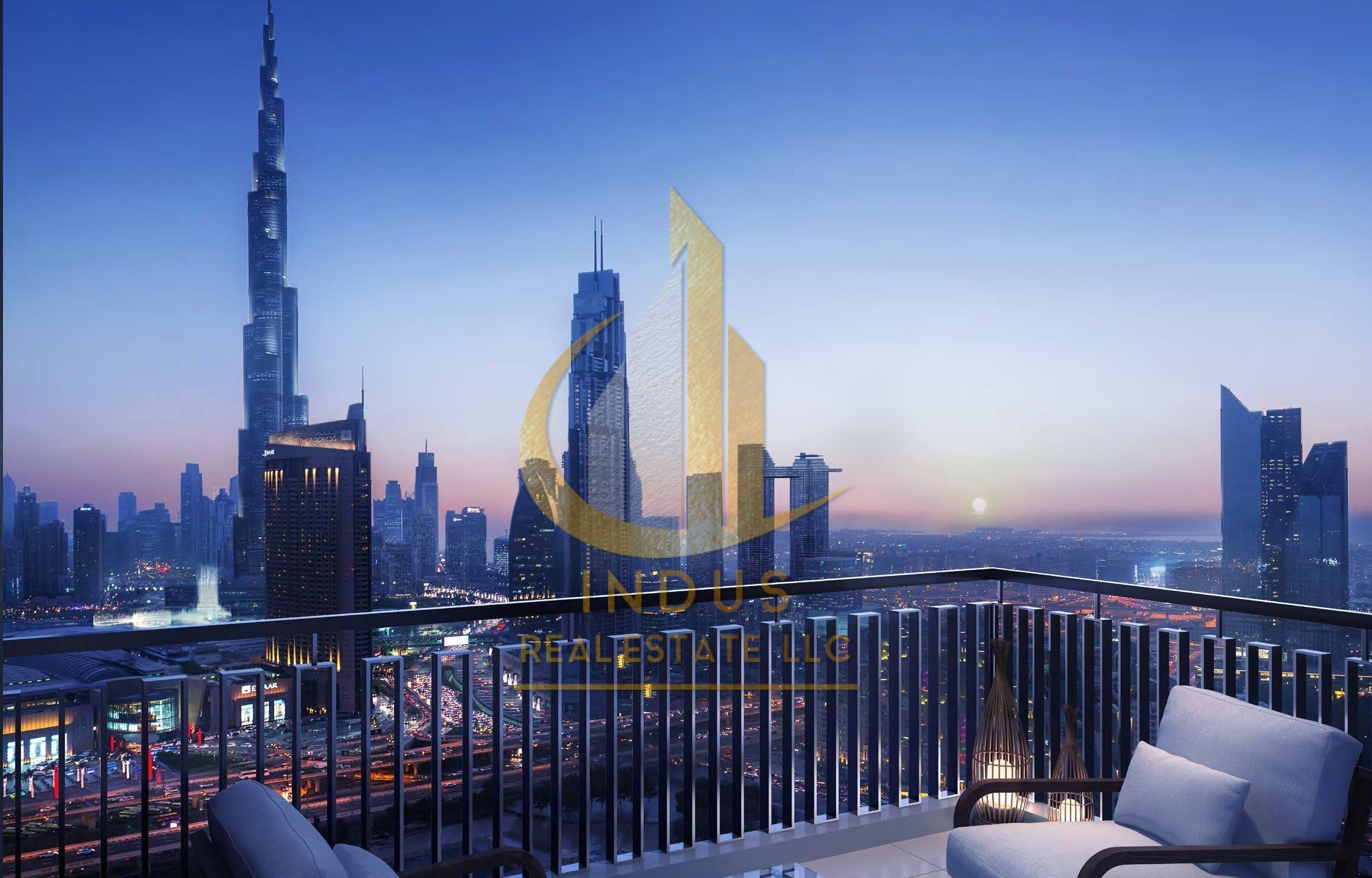 StaySafe| The View Says It All |Burj Khalifa View