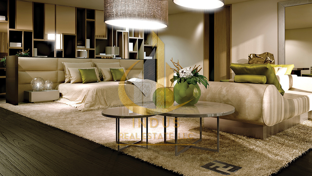 Ready Apt | Full Marina View | Fendi Casa Design