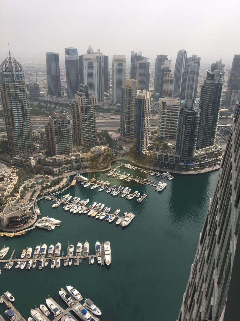 High Floor Very Nice Design 2 Bedrooms Cayan Tower Marina