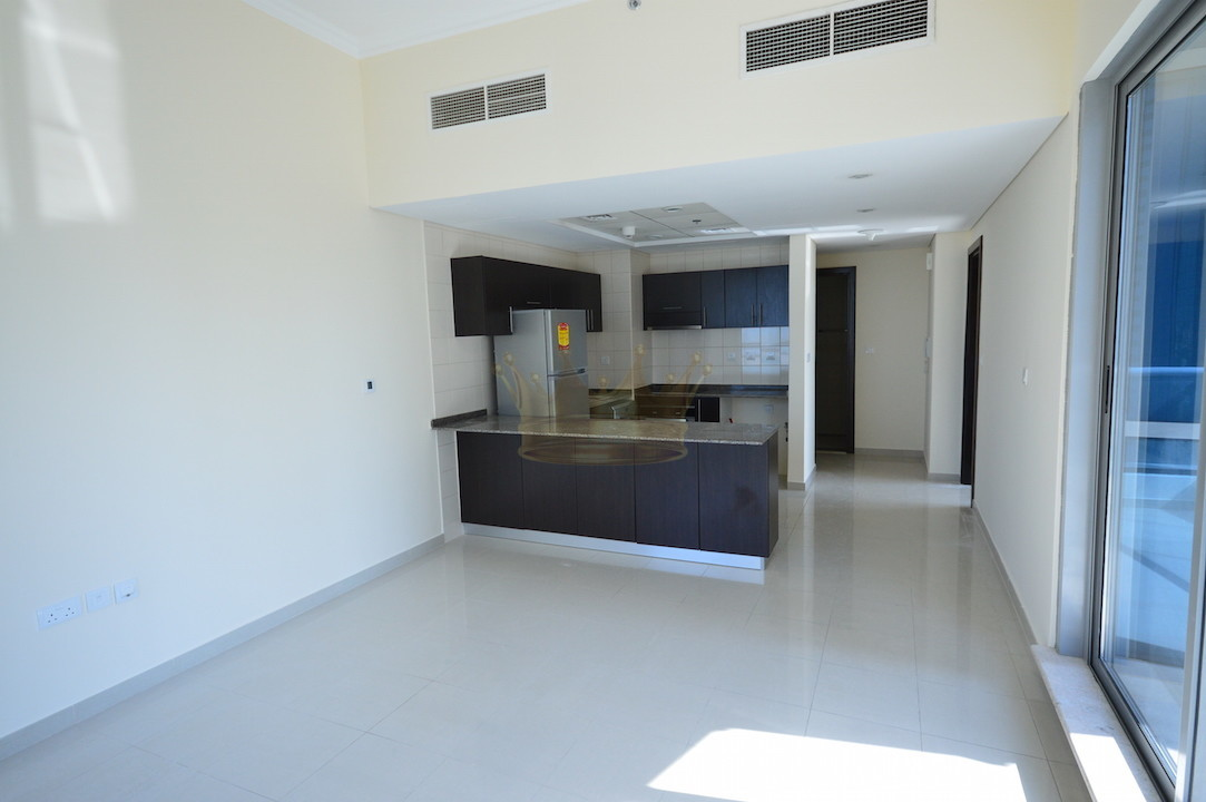Unfurnished 1BR Marina and sea views Bay Central