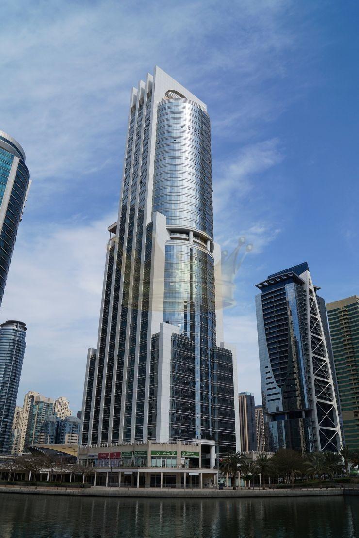 Furnished 1 bedroom in GoldCrest Excutive tower JLT
