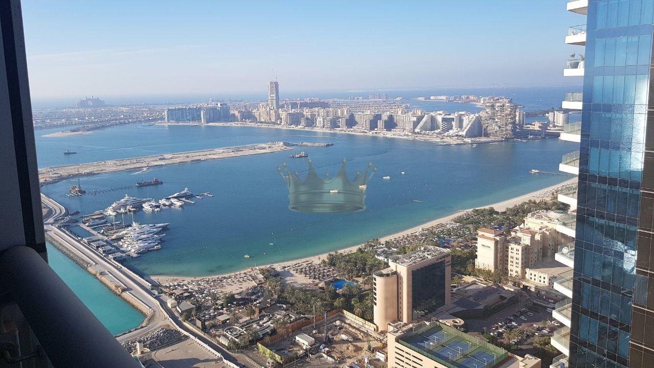 2 bedroom sea view in Dubai Marina for Rent
