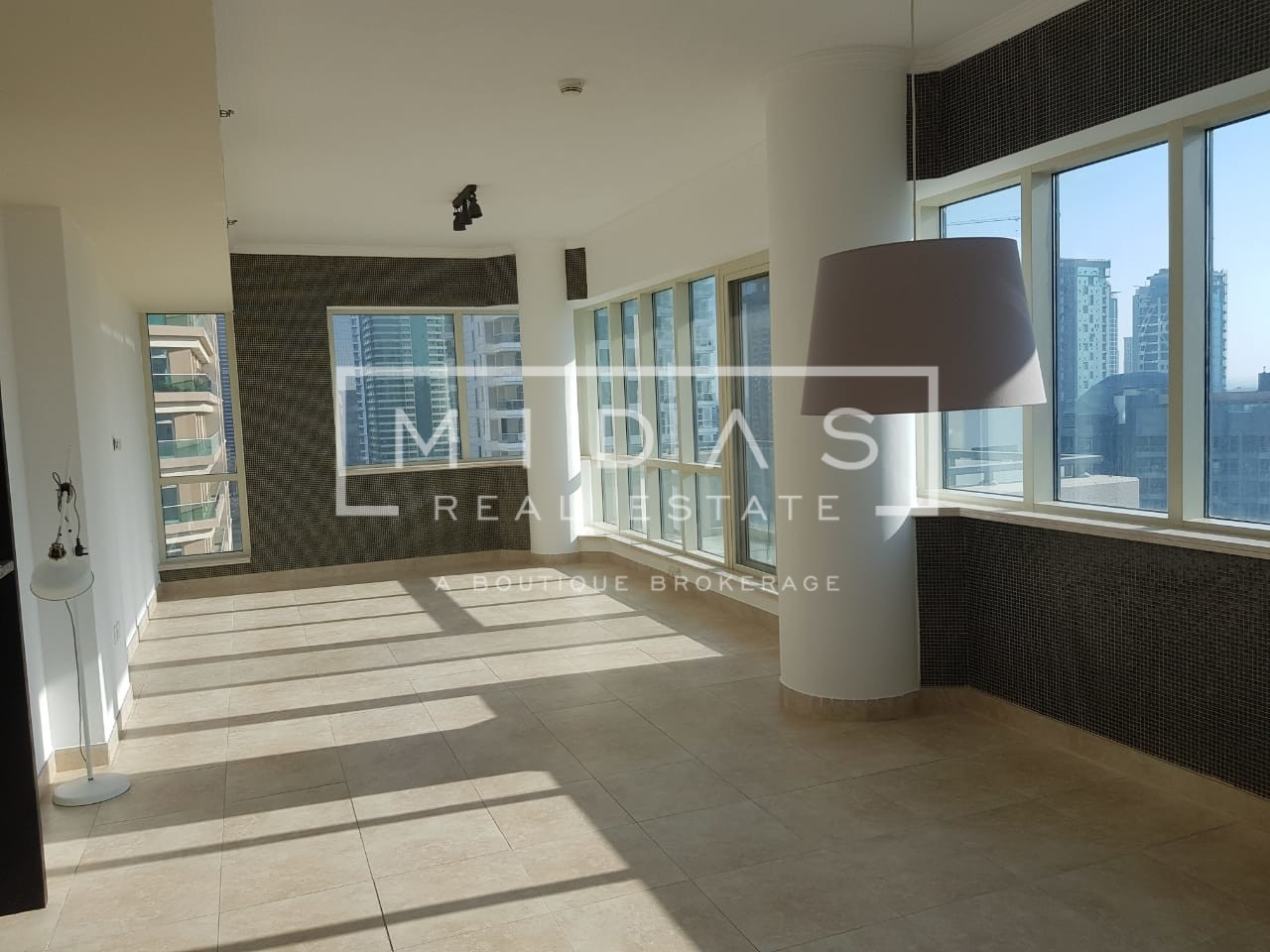High Floor 2BR for Rent w/ Full Marina View