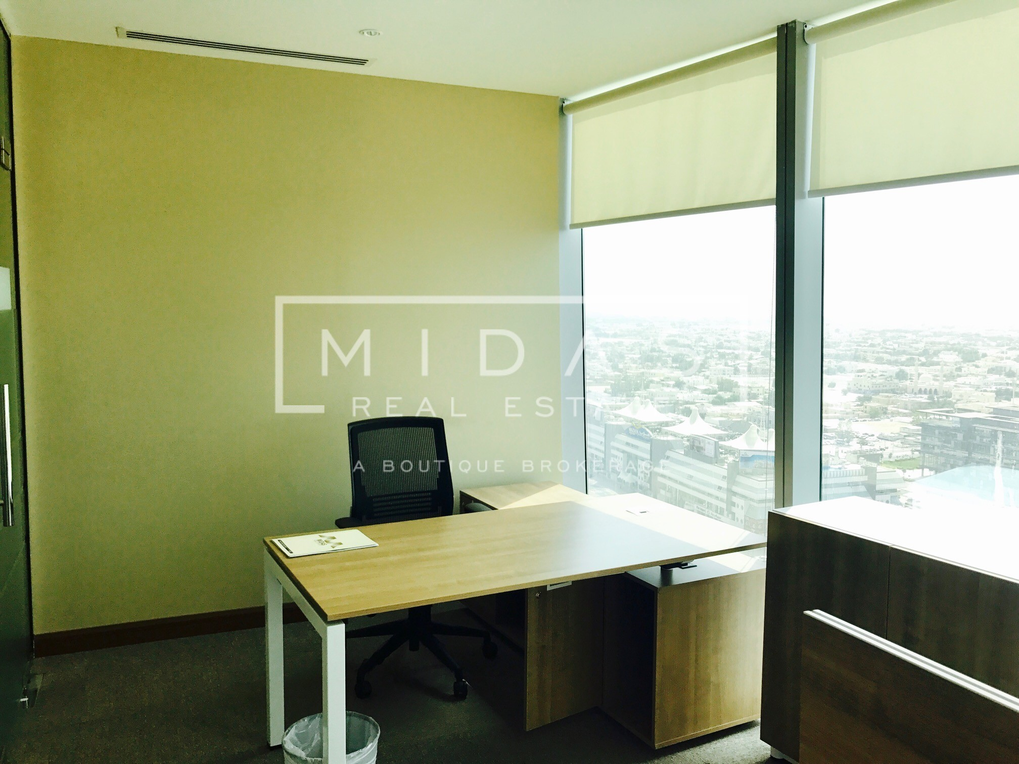 Furnished Office Space in 48 Burj Gate Ready to Occupy All Inclusive
