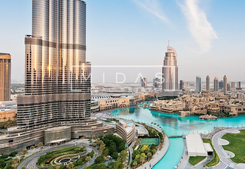 3BR+Maids | High Floor | Burj & Fountain View