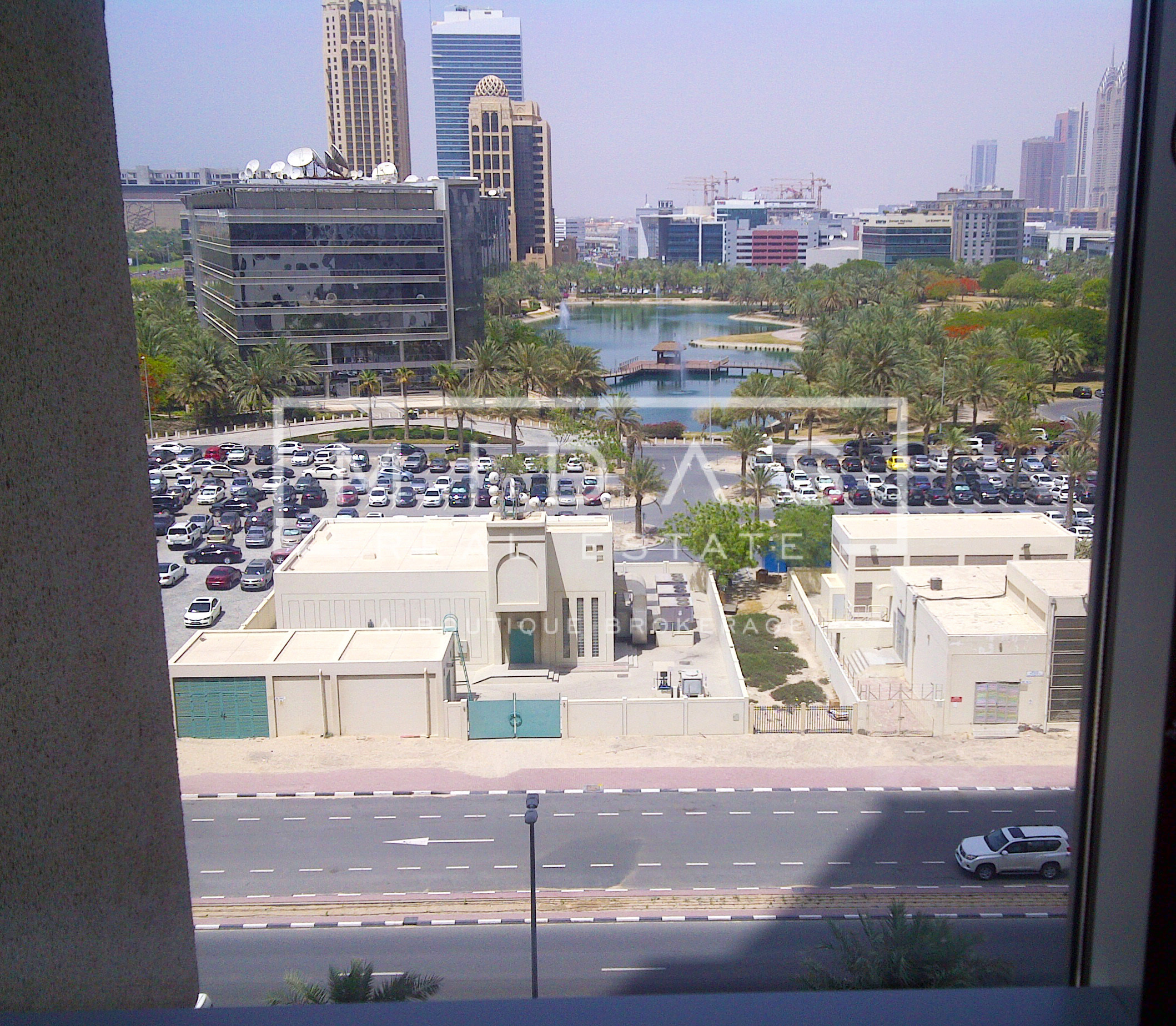 Vacant 2BR w/ Media City View in Al Seef Tower