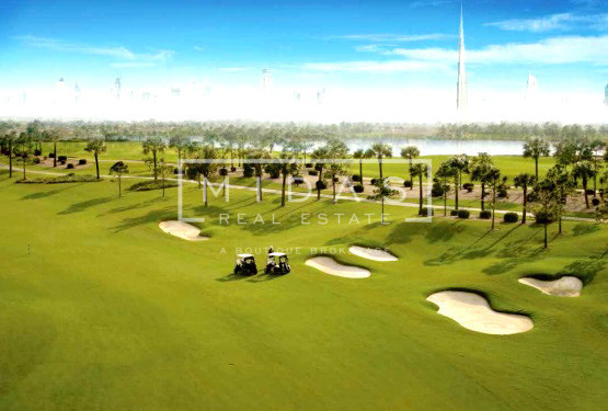 DLD + 3YR PAYMENT PLAN | GOLF VIEW VILLA PLOT