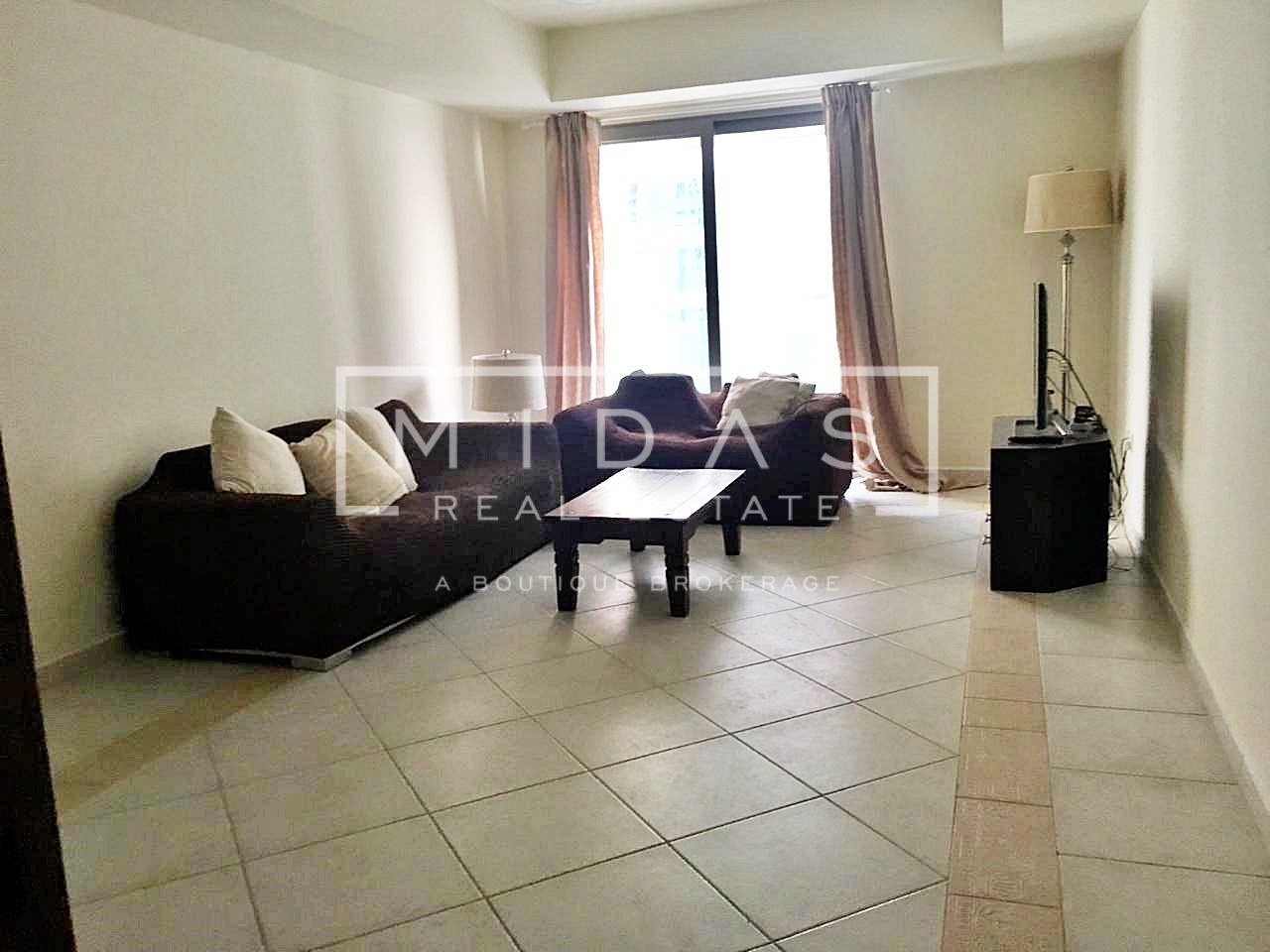 Fully Furnished 2 BR | Partial Marina and Sea View
