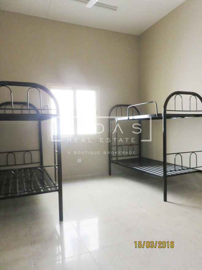 Best Priced! G+3 Labour Camp | AED1600 Net 280 rooms