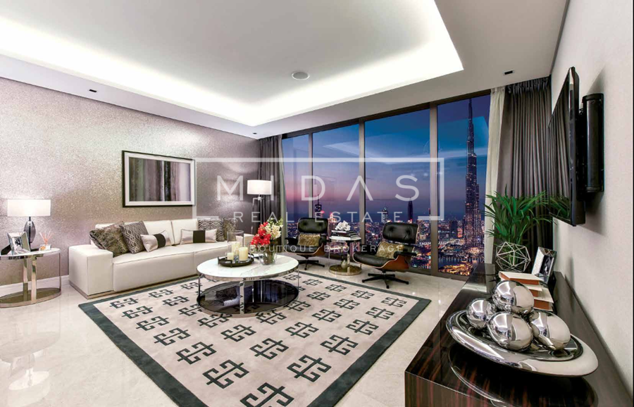 2BR in The Sterling w/ Dubai Canal View, 4 yrs post payment plan