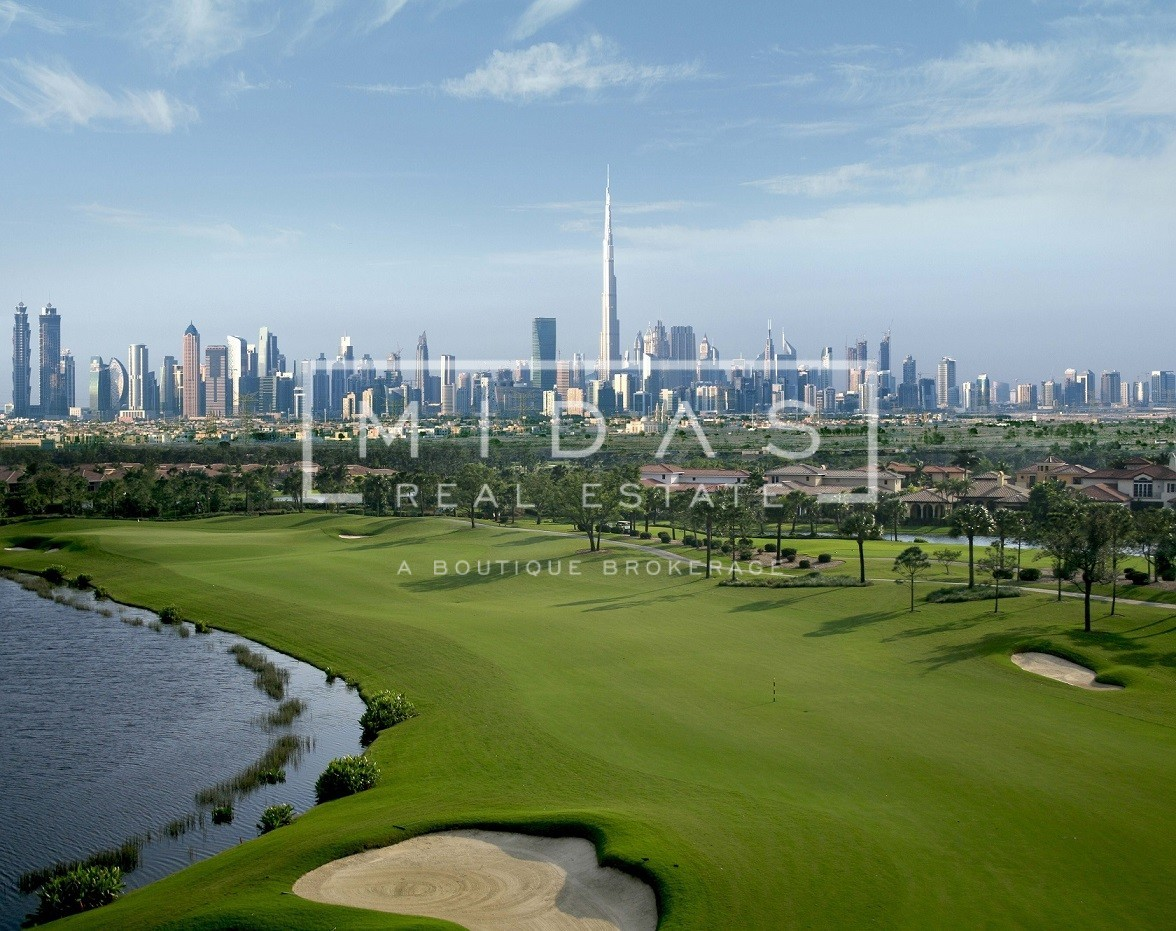 Best Golf Course Views - Villa at Price of Plot