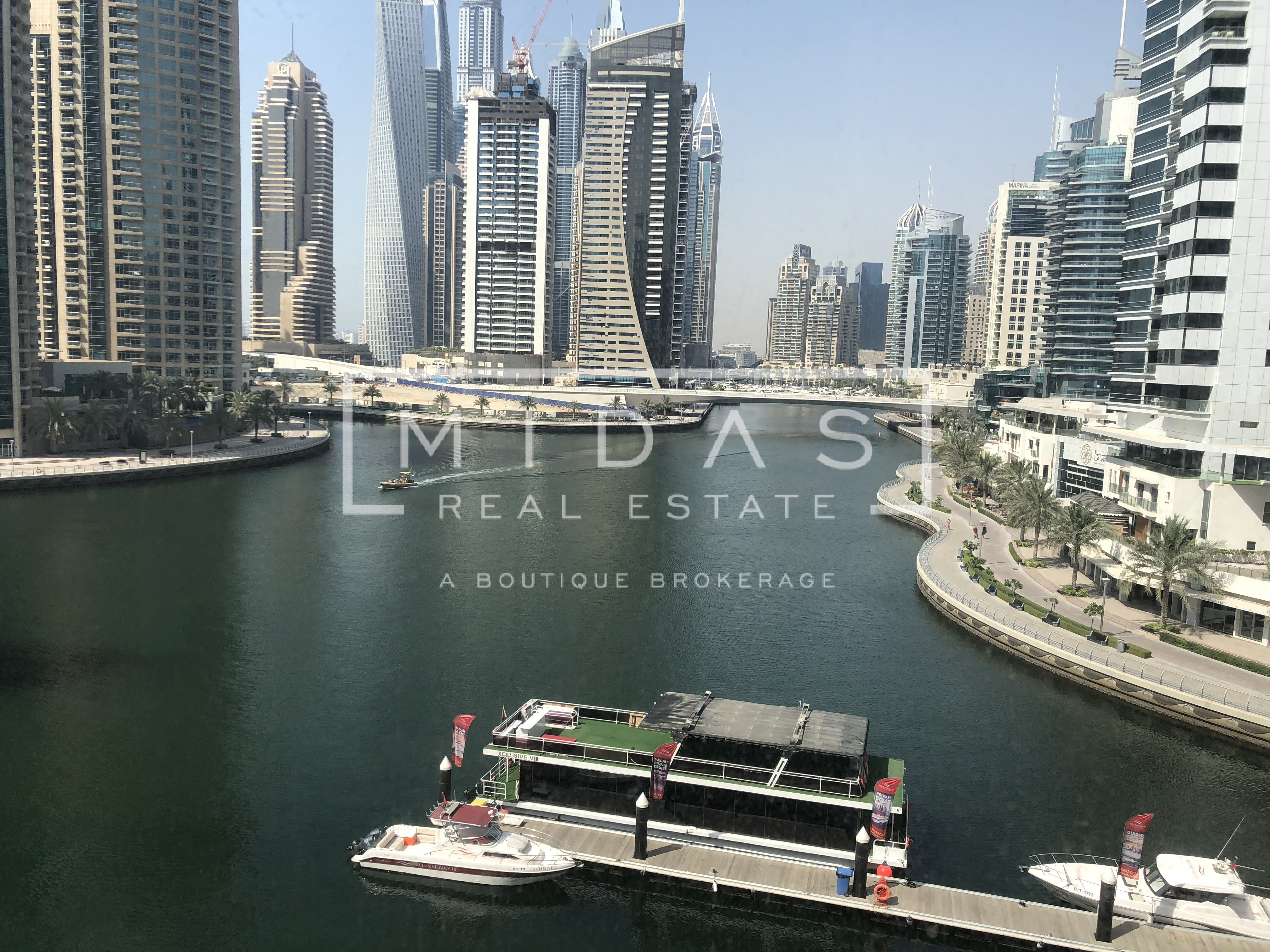 Fully Furnished with Full Marina View