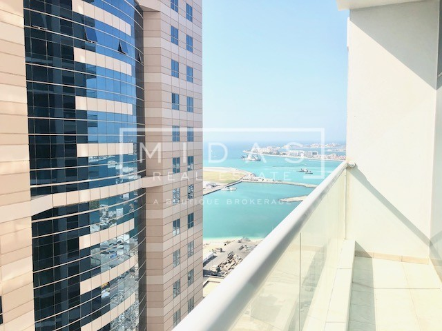 Motivated Seller! 3BR w/ Marina View in Emirates Crown