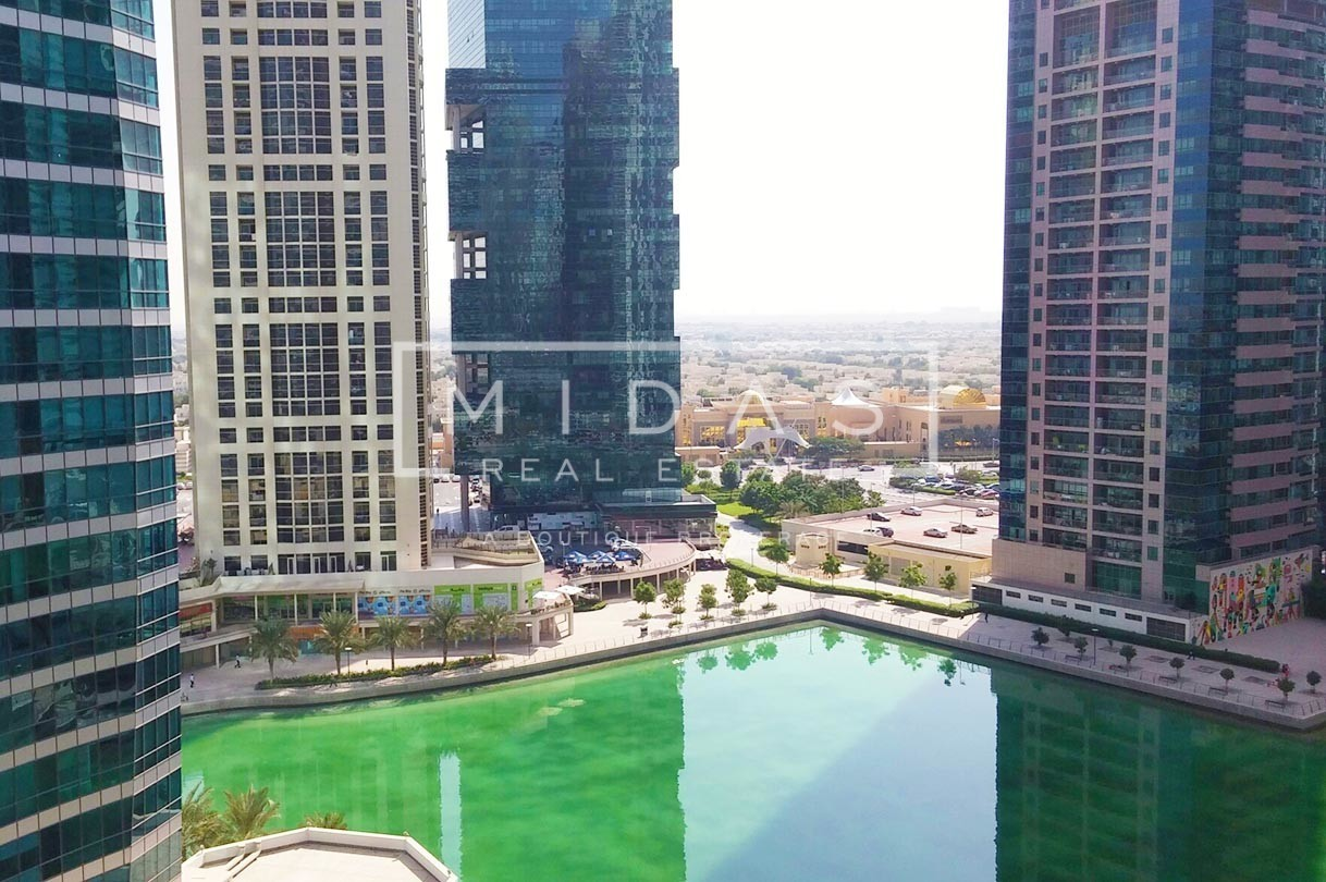 Fitted Office w/ Stunning Lake View near Metro