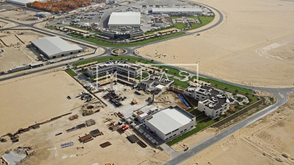 Best Deal!! Huge G+4+Rooftop Labour Camp Plot in Jebel Ali