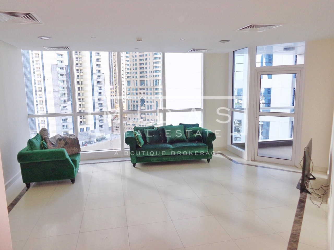 Beautiful 2BR Semi Furnished Unit in 23Marina For Rent