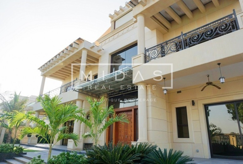 Unique 5BR Lake View Mansion in Emirates Hills