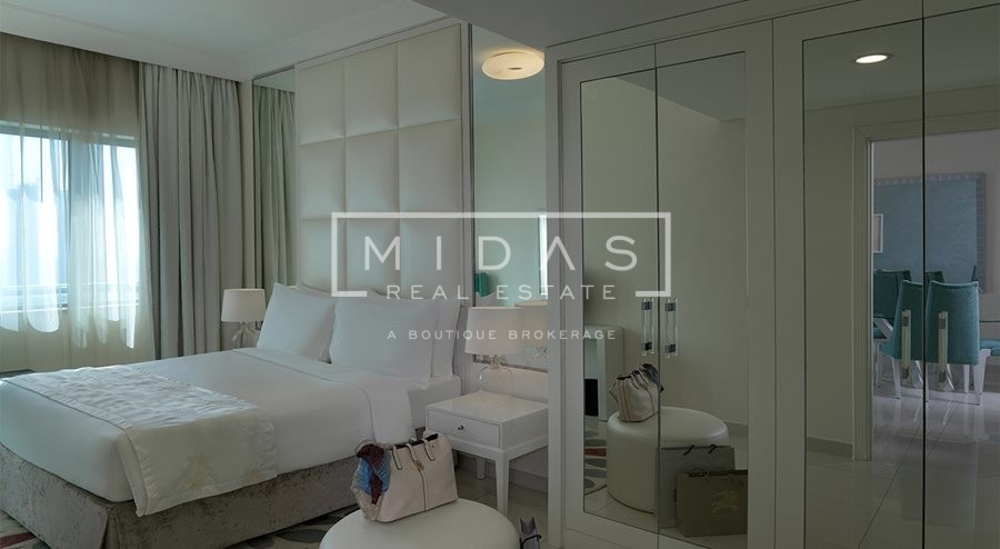 Luxurious 1BR Fully Serviced Hotel Apartments by Maison Damac Mall Street For Rent