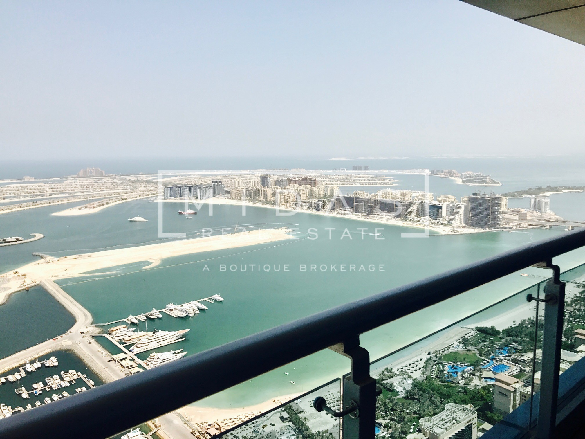 Stunning 2BR with Full Sea View in Princess Tower