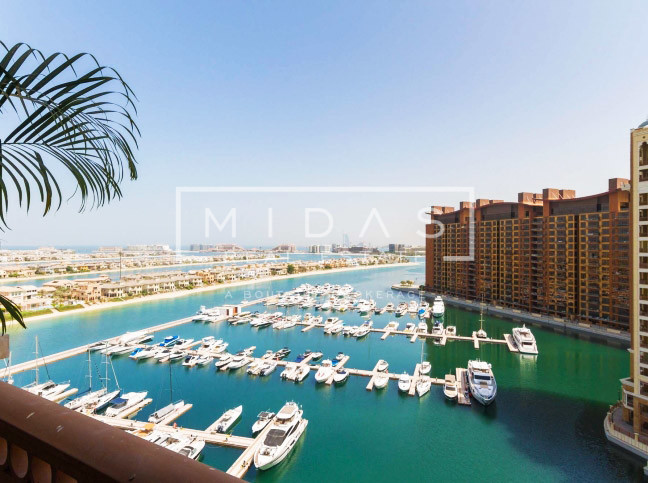 Type C, 2 BR with Stunning Full Sea Atlantis View