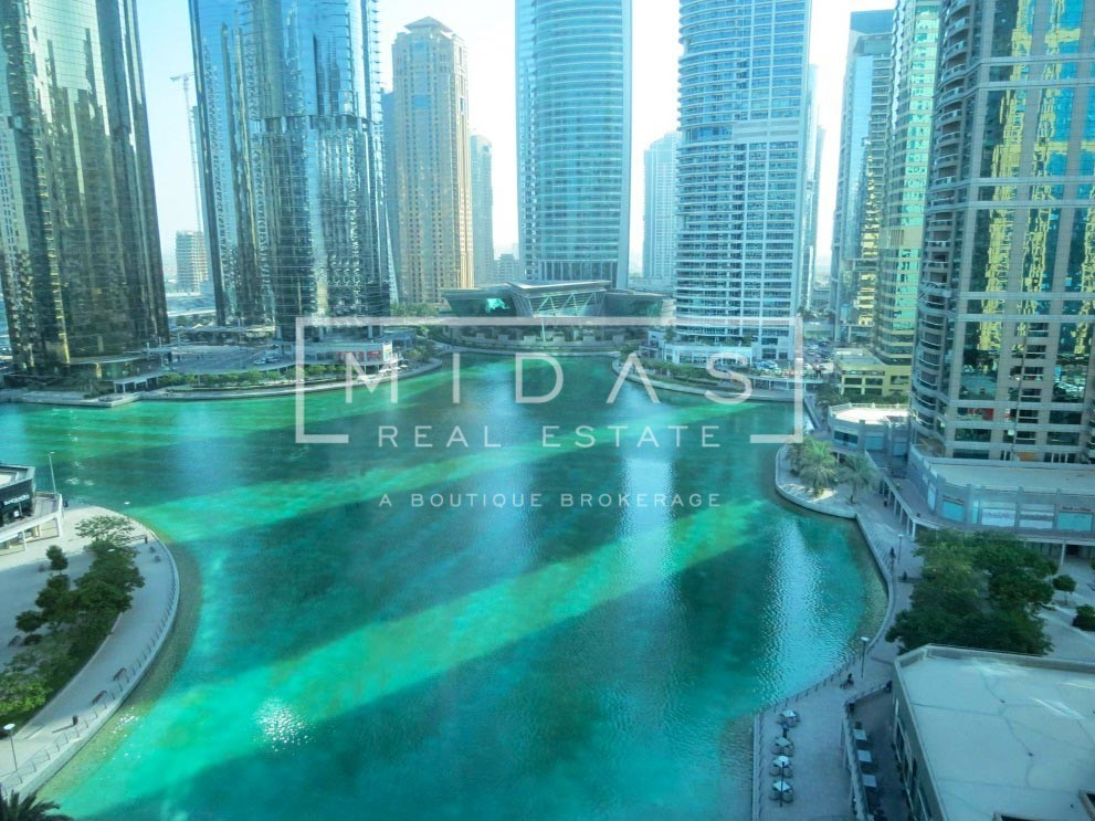High ROI! Fitted Office with Stunning Full Lake View in JLT