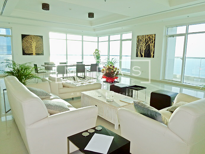 5BR Fully Furnished Penthouse w/ Full Sea View