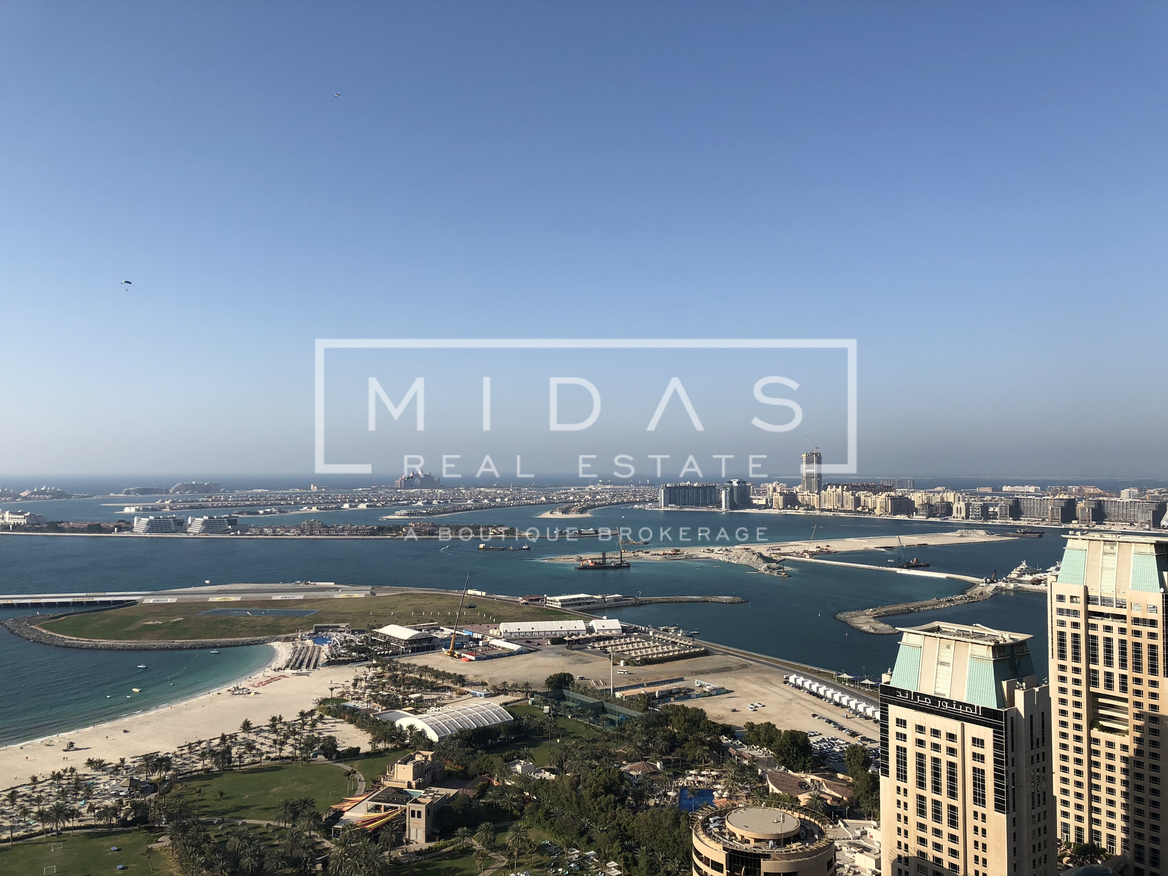 Panoramic Sea and Palm View, 3 Bedrooms in Trident Grand Residence