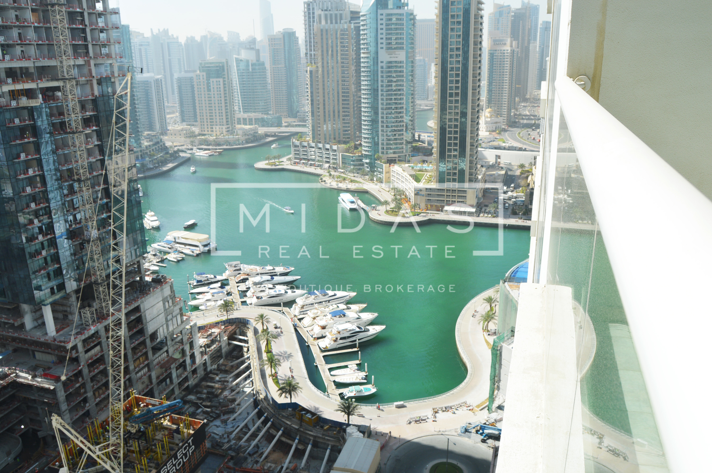 Vacant 3BR w/ Marina View in Emirates Crown