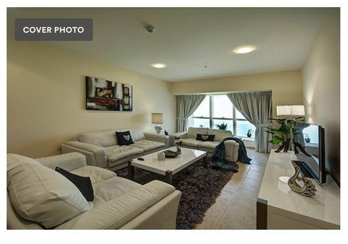 Full Sea View, Fully Furnished 2 Bedrooms