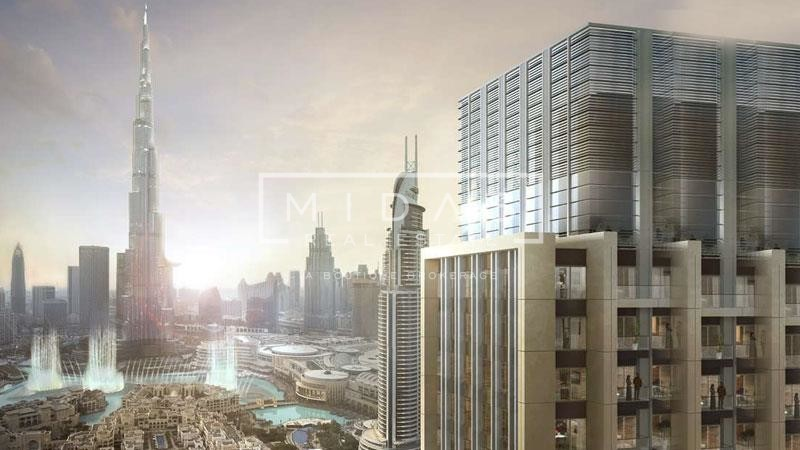 3BR Apartment with unobstructed Burj Khalifa View