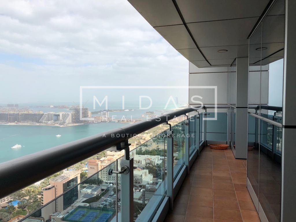 Mid Floor | Full Palm & Sea view | Vacant