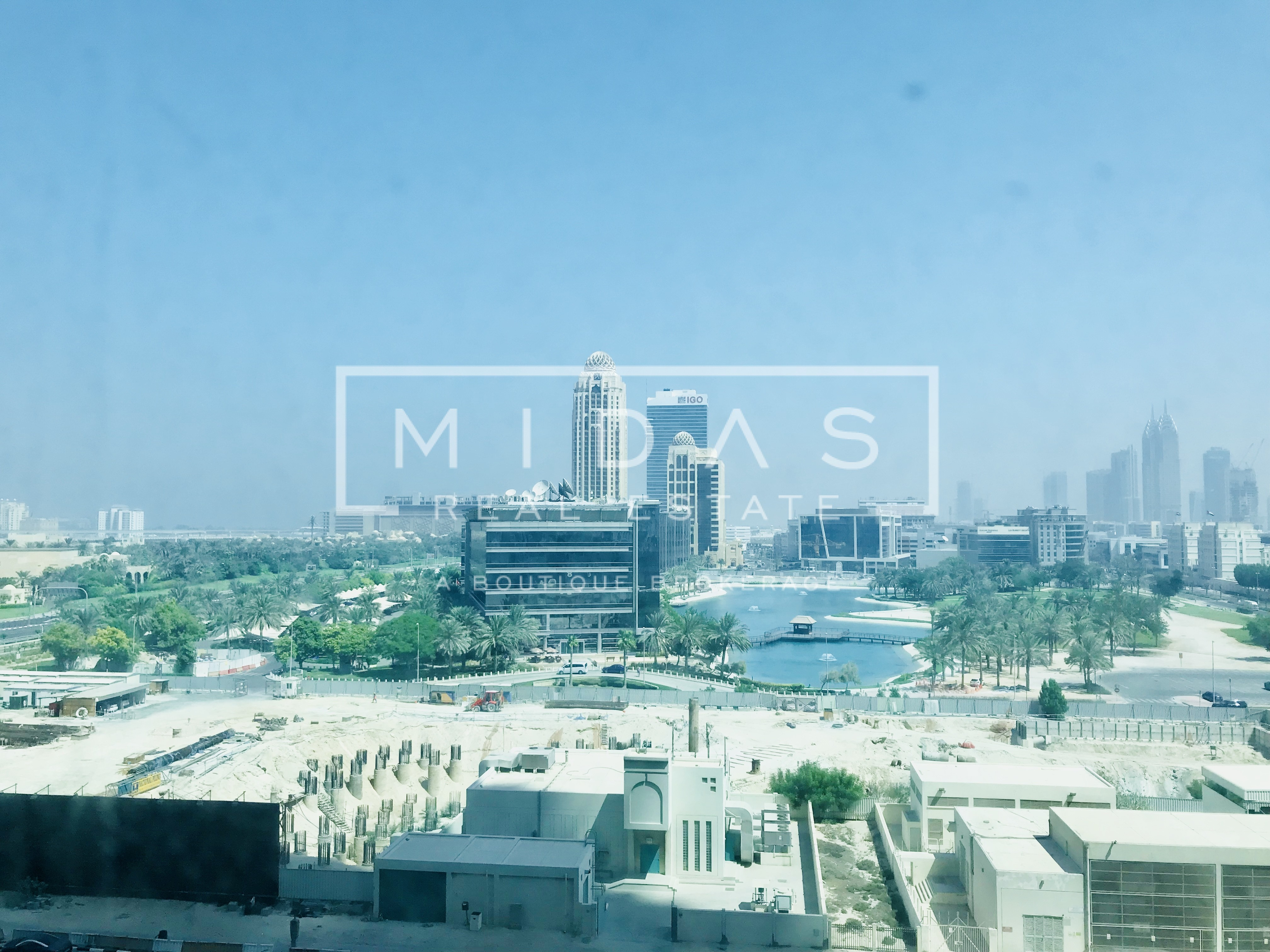 2 BR Apartment w/ Media City view in Al Seef Tower