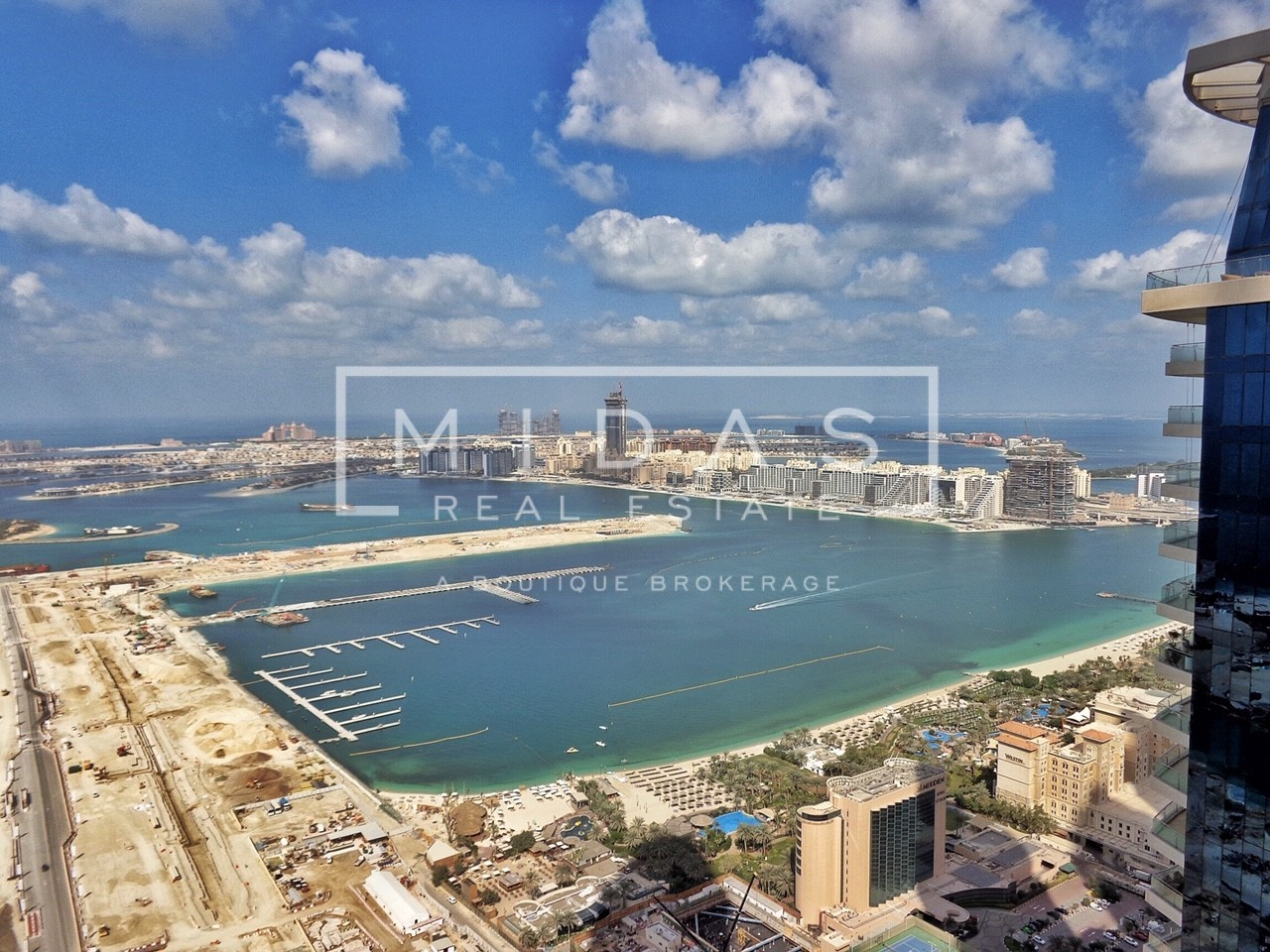 2 BR Higher Floor | Unfurnished | Palm Sea view