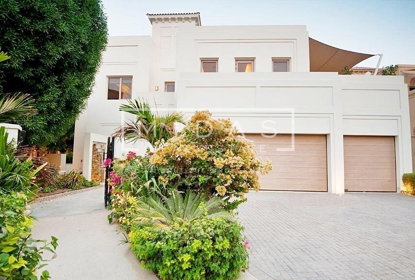 Serene 7 BR Type D Villa w/ Private Pool in Al Barari