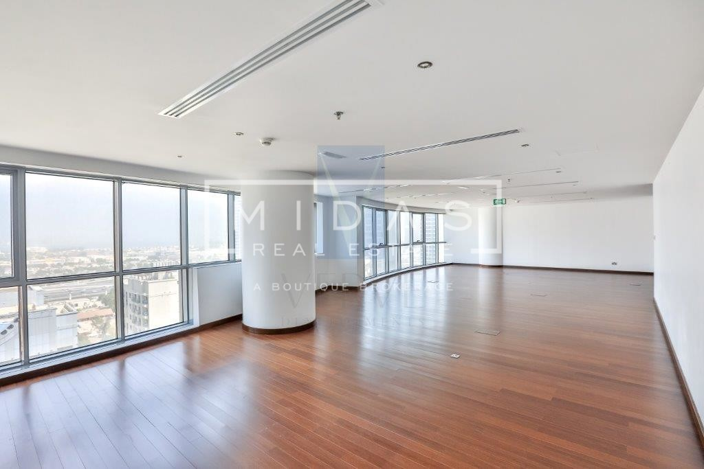 Beautiful Fitted Office with City and Sea View