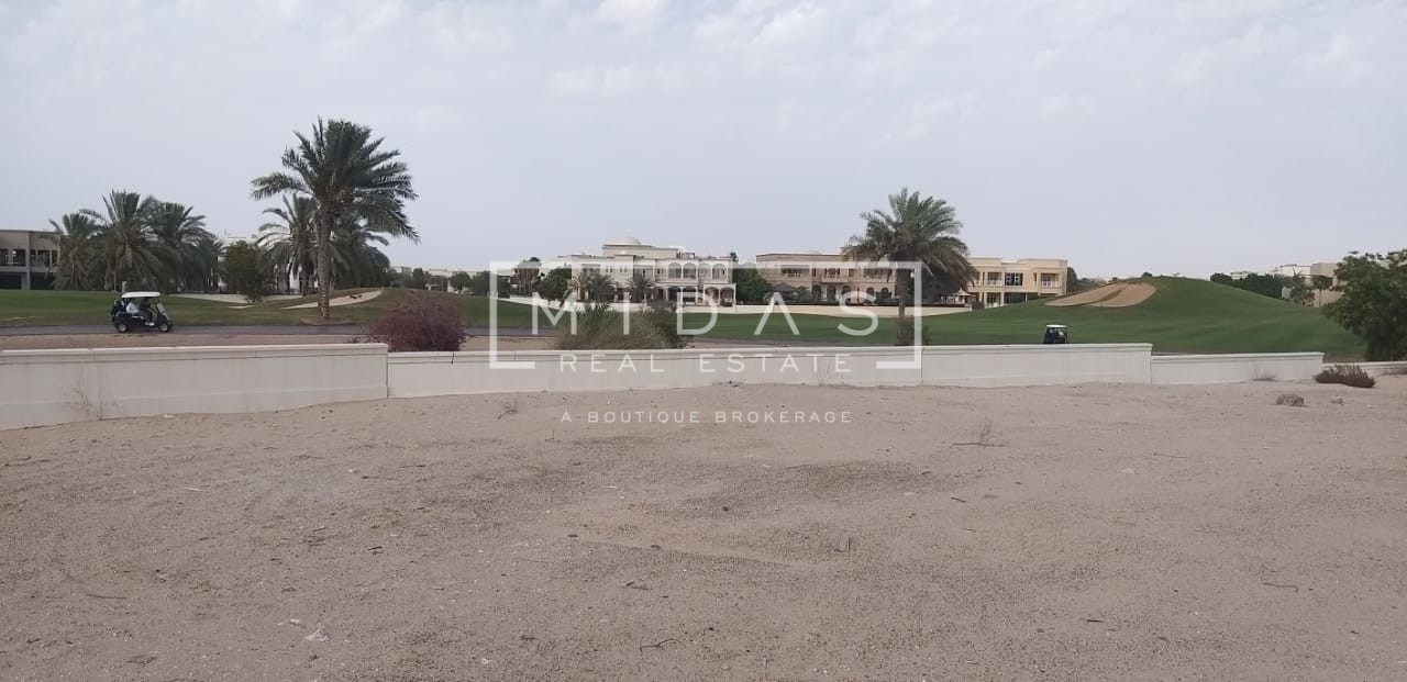 Huge Villa Plot w/ Stunning Golf Course and Lake View