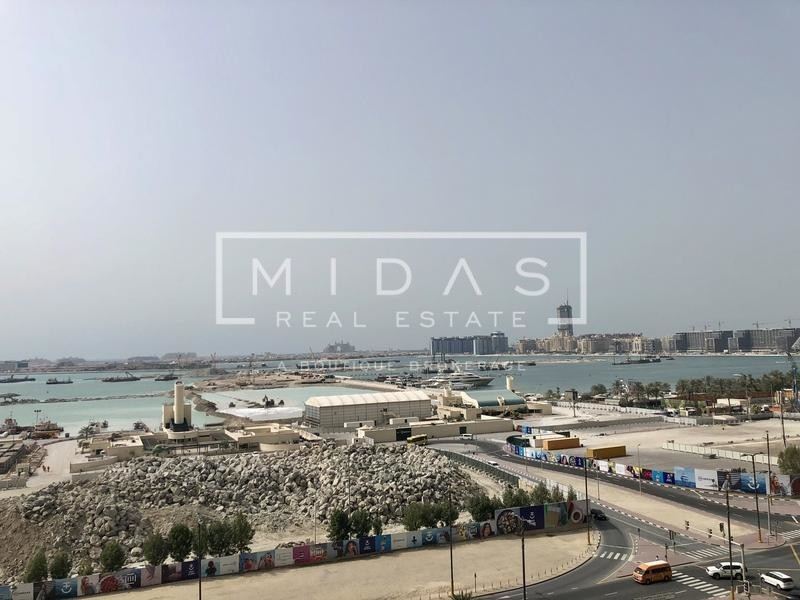 Full Sea and Dubai Eye View 2 Bedrooms