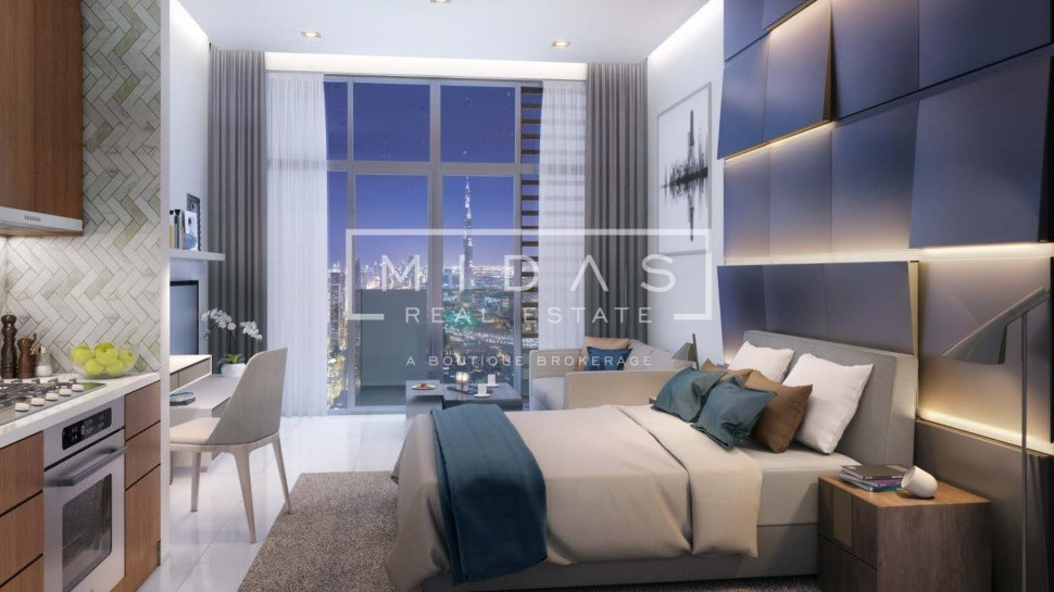 Exquisite Studio Apt. | Burj Khalifa View | Dubai HealthCare City