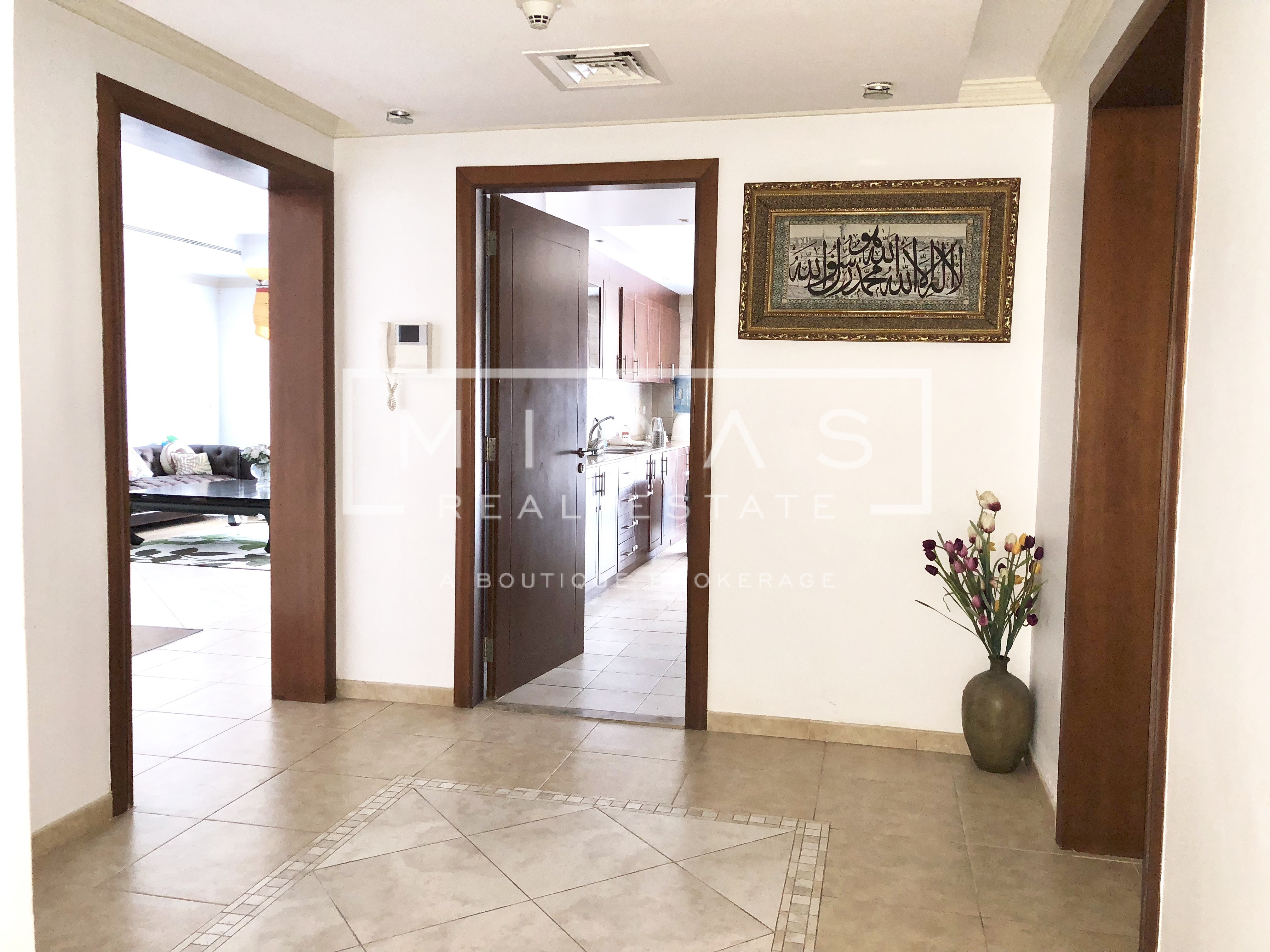 Spacious Furnished 2 Bedrooms in Al Seef tower
