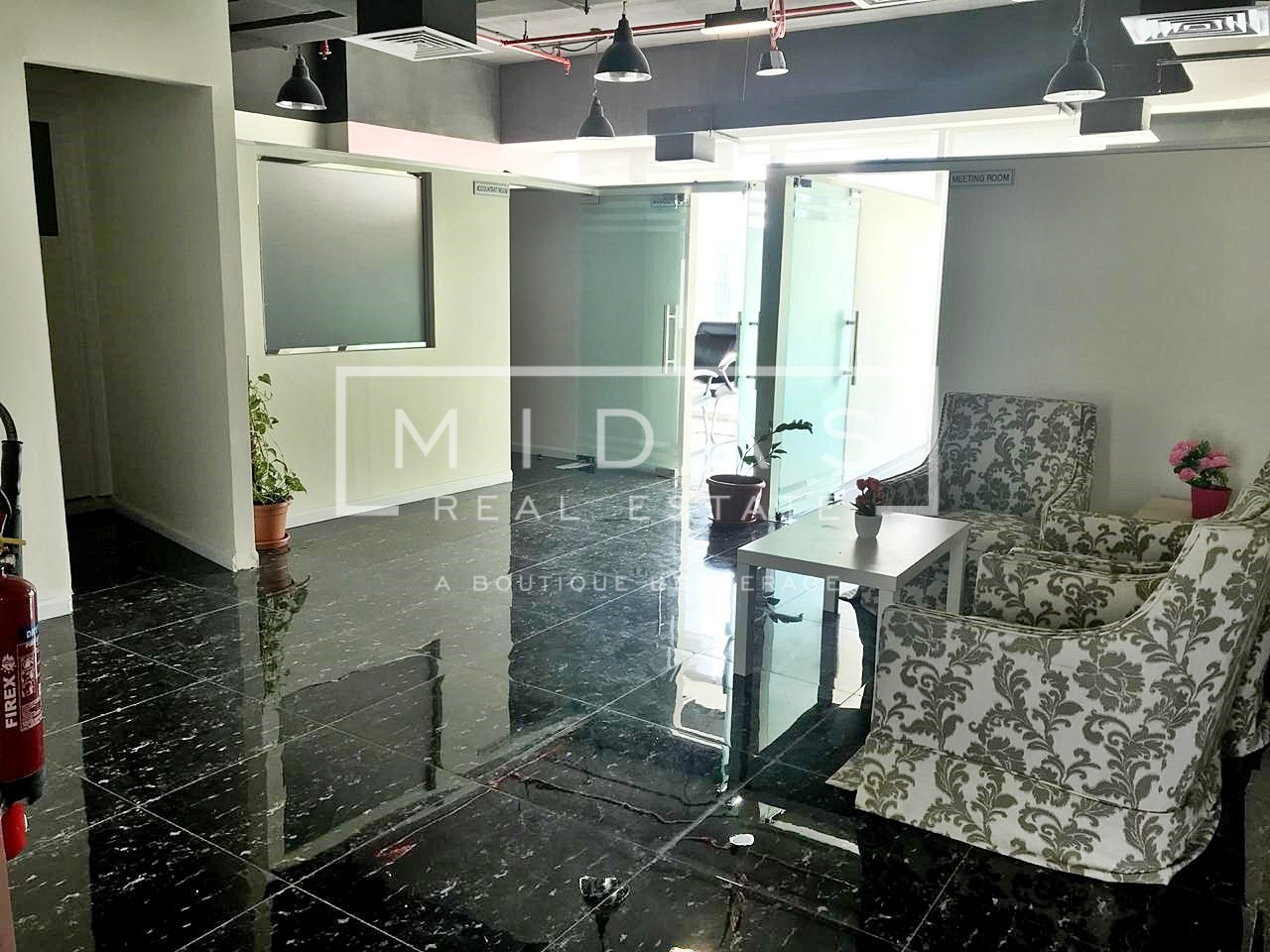 Fully Fitted Office for Rent w/ Canal View