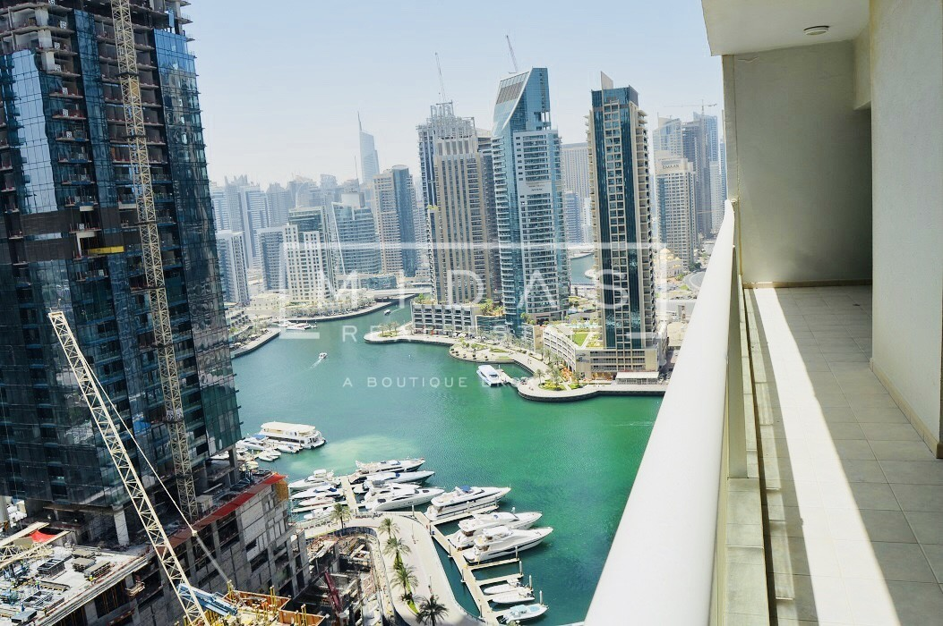 Cheapest! Bright and Spacious 3BR+Maids w/ Marina View