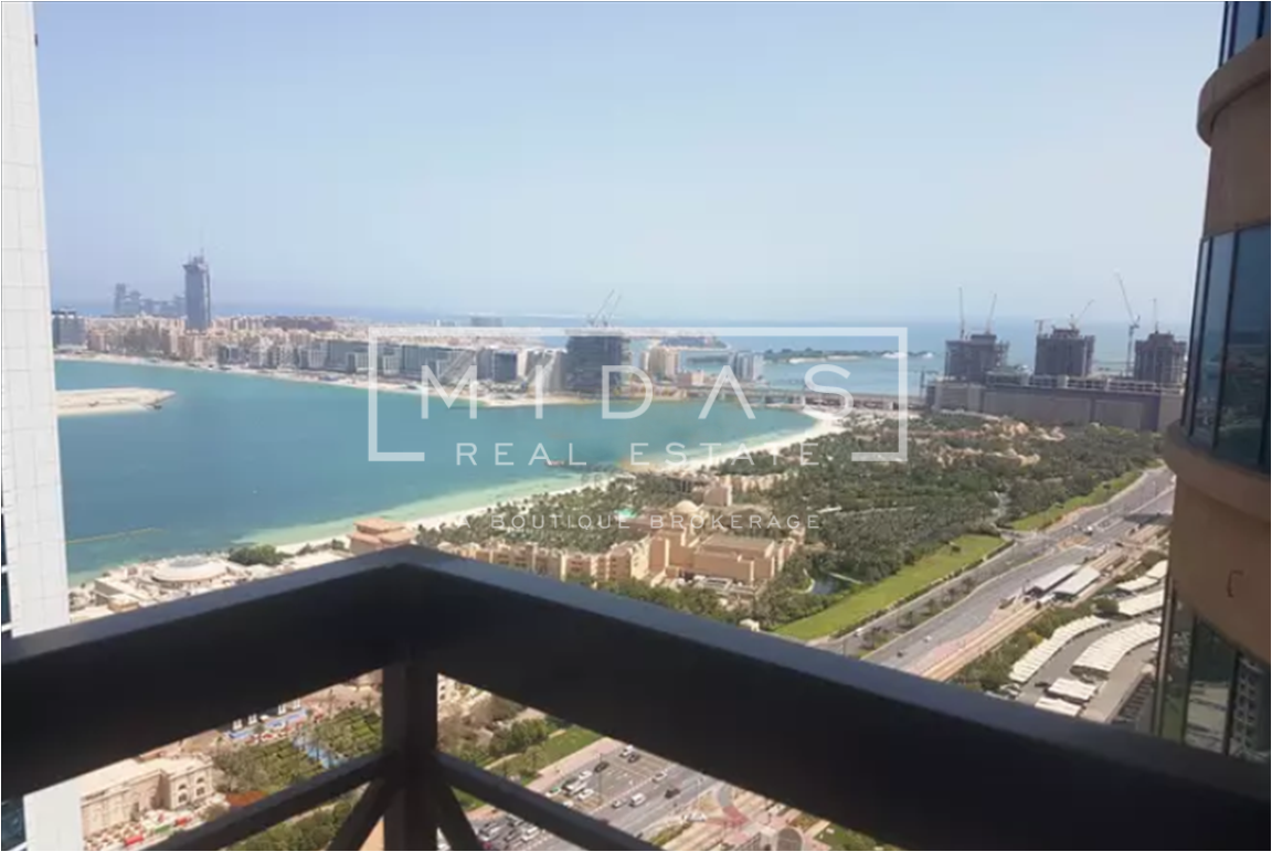 Fully Furnished Apartment with Sea View in Al Seef
