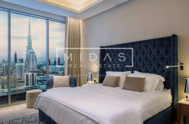 Exquisite 2BR Fully Furnished Apt. with Amazing View in Business Bay
