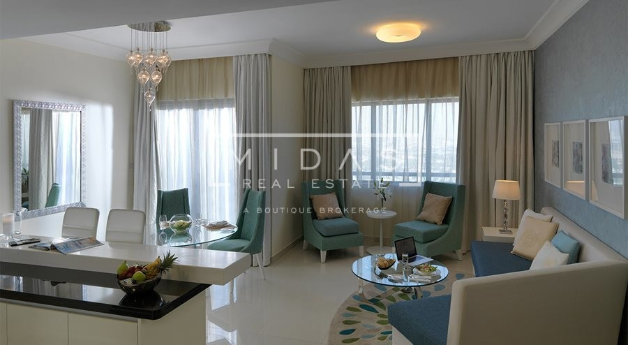 Luxurious 2BR furnished Hotel Apartments by Maison Damac Mall Street For Rent