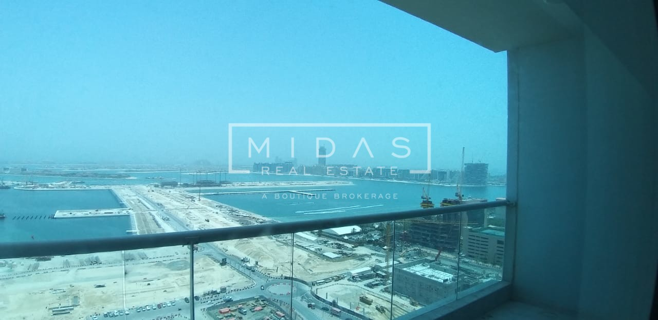 02 Series | Full Palm and Sea View | 3 BR + Maids
