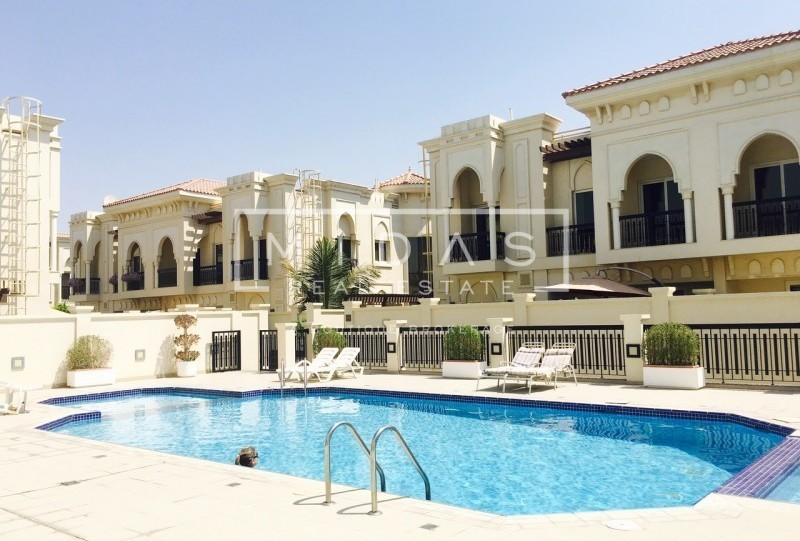 LUXURIOUS 5 BR + MAIDS AND STORAGE DOUBLE STOREY COMPOUND VILLA